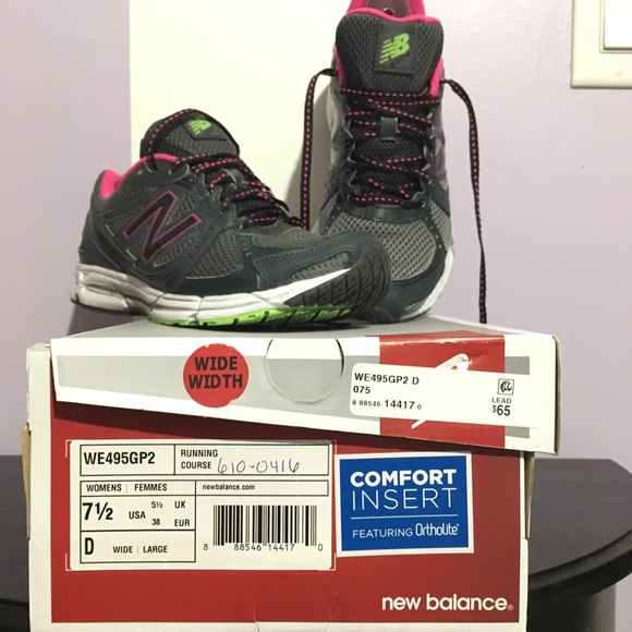 best authentic 1f454 072b3 New Balance Women's Running Shoes 7 1/2 wide